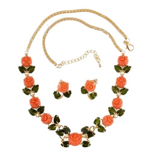 coral-flower-jade-leaf-necklace