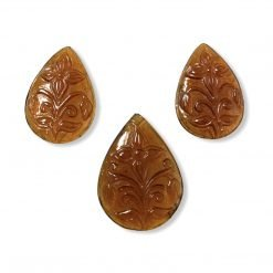 Exclusive 73.00 Carats Hessonite Garnet 3Pcs layout