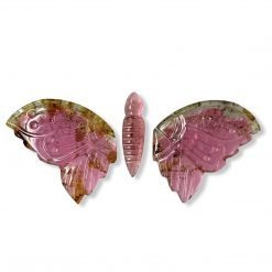 25.94 Carats Natural Tourmaline Carved Butterfly