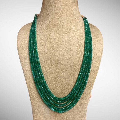 Fine Quality 260.00 Carats Natural Emerald Beads