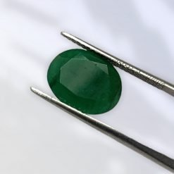 3.90 Carats Natural Certified Emerald